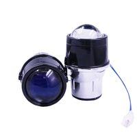 zoll-blaue nebelscheinwerfer großhandel-Automotive Universal-Linsenbeschichtung Super Bright Modification 2,5 Inch Blue Film Doppel-Nebel-Lampen-Objektiv nah und fern Licht Doppel Sich