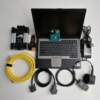 Wholesale bmw laptop resale online - For BMW ICOM NEXT laptop D630 g with icom Soft ware V12 ISTA D Automotivo repair Diagnosis tool