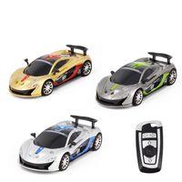 ingrosso nuova automobile di telecomando di marca-Brand New Radio Control Rc modello di auto da corsa con forma chiave Cool Remote Controller Design di alta qualità per i bambini Toy Gift