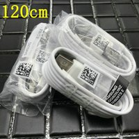 Wholesale note original charger online – 100 Original m Micro USB Fast Charger Cable Data Sync fast charging for Samsung Galaxy S6 S7 Note Edge S4