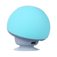 ingrosso altoparlanti funghi-2019 Cartoon Mushroom Wireless Bluetooth Speaker impermeabile Sucker Mini Bluetooth Speaker Audio Outdoor staffa portatile