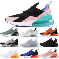 luft sportschuhe blau grün groihandel-Nike Air Max 270 Shoes Laufschuhe CNY Mowabb Clay Grün Ocean Bliss Coral Stardust Schwarz Weiß Blau BARELY ROSE Damen Herren Trainer Outdoor Sports Sneakers 36-45