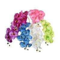 искусственные декоративные орхидеи оптовых-Шелковые Орхидеи 70см / 27.56