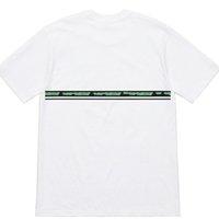 satılık sıcak kadınlar toptan satış-Yeni Sert Mallar Tee Yüksek Sokak Yaylı Şerit Logosu Kısa Kollu Rahat Sıcak Satış Erkekler Kadınlar Çift T-Shirt HFSSTX151