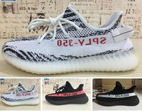 Wholesale frozen flat shoes resale online - Beluga V2 Breds Semi Frozen Yellow Blue Tint Zebra Copper Olive Green Cream White Kanye West Running Shoes Designers Sneakers