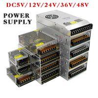 48v adapter großhandel-LED Transformator Netzteil Schalter Adapter AC85-265V 110V 220V zu DC5V 12V 24V 36V 48V 1A 2A 3A 5A 10A 15A 20A 30A 40A 80A Für LED Streifen