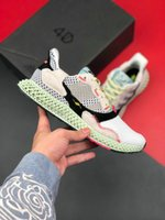 Wholesale y3 shoes resale online - ZX4000 Futurecraft D Casual Mens Shoes ZX Futurecraft D alphaedge y3 men running shoes black white sneakers