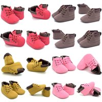 Wholesale moccasins baby boots for sale - Group buy Newborn Baby Casual Shoes Infant Toddler Girl Baby Crib Shoes Boot Newborn Soft Sole Martin Moccasin