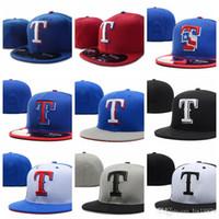 rangers şapkaları toptan satış-Rangers T mektup Beyzbol kapaklar Hip Hop Dans Beisbol Gorra spor Kemik Toca Şapka Casquette Kadın Erkek Monte Şapkalar
