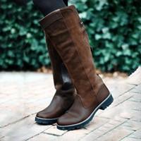 Hiver longues Bottes Automne NOUVELLES équitation Rome style Botas Mujer Casual automne HEFLASHOR Cuissardes Boot desserrées Femmes d Chaussures O0wknP