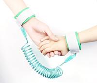 Wholesale kids safety wristbands resale online - Baby Kids safety wristband anti lost Wrist Link Baby Toddler Harness Leash Strap Anti Lost bracelet Adjustable