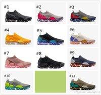 çeşitli ayakkabılar toptan satış-2018 Moc 2 Serbest Bırakma Erkek Laceless Renkli Üçlü Siyah Koşu Ayakkabıları Kadınlar Için Moc Ayakkabı Sneakers Spor Eğitmenler Racer Ayakkabı Çeşitli col