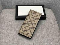 tiger clutch taschen groihandel-2019 Marke lange Mappe Leder Tiger Männer Handtasche Luxus-Designer-Kartenbeutel Portemonnaie beste Qualität klassische Tasche 451275