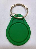 tarjeta de proximidad blanca al por mayor-Venta al por mayor 50pcs 125khz pasivo tk4100 RFID Proximity ID Card Token Tags Key Keybs (azul / blanco / verde) para control de acceso