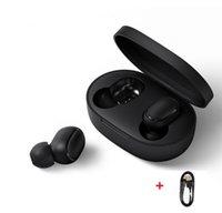 kablosuz bluetooth toptan satış-2019 Bluetooth Kulaklık Kablosuz Kulaklıklar 5.0 TWS Kulak Kulakiçi Mini Kulaklık 3D Stereo Ses Spor Kulaklık Bluetooth Kulaklık