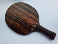 cuchillas stiga al por mayor-Wholesale-ventas de alta calidad Stiga Ebenholz 5 / tenis de mesa con cuchilla / mesa raqueta de tenis / cuchilla de ping-pong