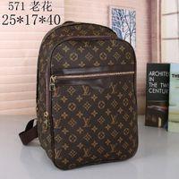 Wholesale mens backpacks for sale - Group buy 2020 Designers Backpack Mens Luxury Backpack hot Brand Double Shoulder Bags Male Brand School Bags Leather Shoulder Bag