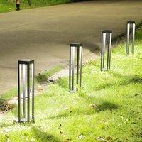 feux de sol de pelouse achat en gros de-AC: 220v 110v IP55 LED décoration pelouse imperméable extérieure allume des lampadaires pour la rue Garden Path Courtyard Street
