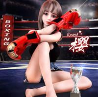 muñeca real sexy para hombres al por mayor-2019 Sexy Real Doll Realista Silicona Sex Doll Tamaño real Realista Silicon Love Dolls Japonés Sólido 158cm Sex Dolls Adultos Juguetes sexuales para hombres