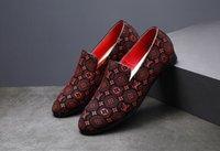 beiläufige männer gewebte schuhe großhandel-Neue Mens-Kleidschuhe, die spinnende Müßiggänger spitzen, blaue Schuhe der zufälligen Schuhe blaue Größe US 6-14 806
