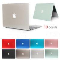 15 zoll laptop tasche großhandel-Crystal Laptop-Hülle für Laptop MacBook Air Pro Retina 11 12 13 15 15,4 13,3 Zoll mit Touch-Bar-Schutzhülle