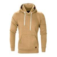 пуловер для зимы оптовых-Sweatshirt Men's Long Sleeve Autumn Winter Casual Sweatshirt Men Hoodies Top pullover Tracksuits NOV1