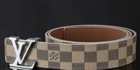 jeans de hombre 28 32 al por mayor-Cinturones de diseñador de cinturón de cuero genuino para hombres de alta calidad, correa de lujo para hombre, cinturones masculinos para hombres, hebilla de pin vintage para jeans, sin caja