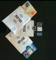 carte antivol achat en gros de-Blocage sécurisé de cas de protecteur de titulaire de carte de crédit de manche anti-vol de RFID