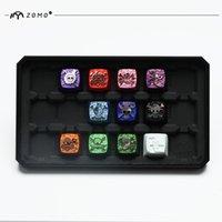 cerise un achat en gros de-Keycap en métal One Piece clavier mécanique cherry mx keycaps ZOMO casquettes de clavier de jeu métalliques