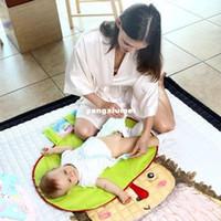 katlanabilir ped toptan satış-Su geçirmez Katlanabilir Taşınabilir Bebek Bezi Değiştirme Mat Bezi Değiştirme Pedi Seyahat Değişen Istasyonu Bebek Bakım Ürünleri Arabası ...
