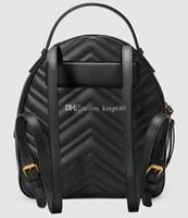 mochilas al por mayor-Venta caliente Top de Cuero Clásico Moda Bolsas de Viaje Mujeres Hombres Mochila Estilo Bolsas de Lona Unisex Bolsas de Hombro Bolsos