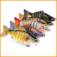 Wholesale soft crankbait lures for sale - Group buy Fishing Lures Wobblers Swimbait Crankbait Hard Bait Isca Artificial Fishing Tackle Lifelike Lure Segment cm g