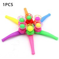 1PCS Funny Toys Flute Ball Plastics Blowing Floating Kids Gift Educational Toys
