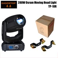 Wholesale prism lamps for sale - TIPTOP TP R Hot Sell W R Sharpy Beam Moving Head Light With O S R A M Lamp DMX Channels Facet Prism Stage Light
