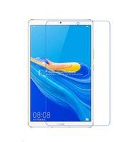 huawei ekran koruyucusu filmi toptan satış-Temperli Cam Ekran Koruyucu Film için Huawei MediaPad M6 8.4 Tablet + Ekran Temiz Araçları