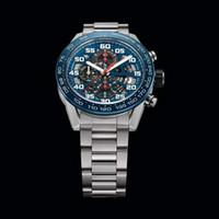 японские часы моды оптовых-Модные Роскошные Мужские Часы Импорт Япония ВК Механизм Хронограф Наручные Часы Полный Стали Три Цвета Часы Mmale Часы