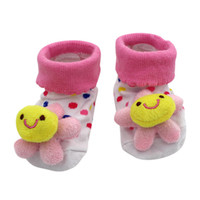 Wholesale newborn sports clothes for sale - Group buy New Clothing Cartoon Newborn Baby Girls Boys Anti Slip Socks Slipper Shoes Boots Clothes Sports Suit Kids Clothing