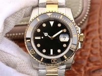 Wholesale watch hands parts for sale - Luxury watch package k gold steel CAL mechanical movement refined steel parts of steel aaa luxury mens watches