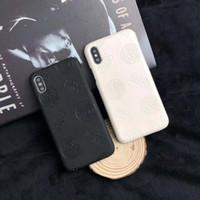 capas móveis pretas venda por atacado-Preto branco mito padrão medusa caso do telefone móvel inteligente para iphone x xs max xr 6 6 s 7 8 plus rígido de volta proteção case phone case capa