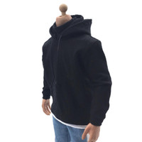 Wholesale 12 figure clothes resale online - 1 Scale Men Clothes Hoodies Costume for quot Male Action Figure Accessories