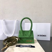 branded handbag toptan satış-19 s JACQUEMUS Tiny Çanta Mini Çanta Marka Kılıf Çanta Moda Fanny Çapraz Vücut Bel Flap Çanta Messenger Omuz Çantaları PU Kemerler Çanta