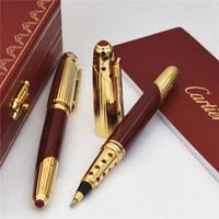 Wholesale best art pens online - Luxury Pen Promotion Price Roller ball Pen Best Quality Carties Brands pen gitf