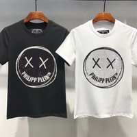 almanya şortları toptan satış-2019 Almanya yüksek kalite 3D Kaya erkek t-shirt moda hip hop kafatası baskılı pamuk erkek T-shirt rahat spor O-Boyun kısa kollu üst