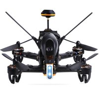 Wholesale walkera transmitters resale online - New Walkera F210 RC Racing Drone Quadcopter UAV with TVL Wide Angle Adjustable Camera Receiver Devo Transmitter OSD RTF