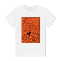 art peinture großhandel-T-Shirt Homme - Crack Is Wack Keith Haring Pop Art Peinture Dessin 1980 USA Modus Top Kostenloser Versand T-Shirt Anzug Hat Rosa T-Shirt