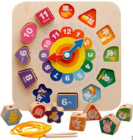 Wholesale 12 zodiac puzzle for sale - Group buy Children string beads thread building blocks boys and girls children puzzle zodiac toys years old years old Beaded gameplay bui