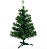 künstlicher minibaum großhandel-60cm Mini Weihnachtsbaum Small Style für Weihnachten Tischdekoration Umweltfreundlich PVC Künstlicher Weihnachtsbaum