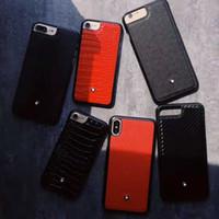ingrosso auricolari personalizzati diy-duro cassa del telefono mobile di plastica MB affari marchio di lusso in pelle di coccodrillo texture per iPhone 6 6s 7 8 più copertura donna X XR XS MAX Man