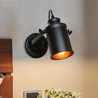 Wholesale vintage iron wall lamp for sale - Group buy Wall Lamp American Retro Country Loft Style LED lamps Industrial Vintage Iron wall light for Bar Cafe Home Lighting LLFA