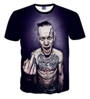 5c54ab1c8 3d animal face t shirts Australia - Horror Game Sally Face 3D T Shirts Men  Women